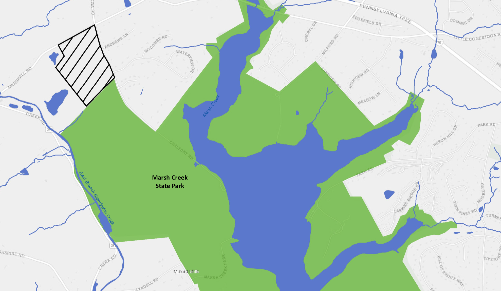Natural Lands Protects Addition to Marsh Creek State Park